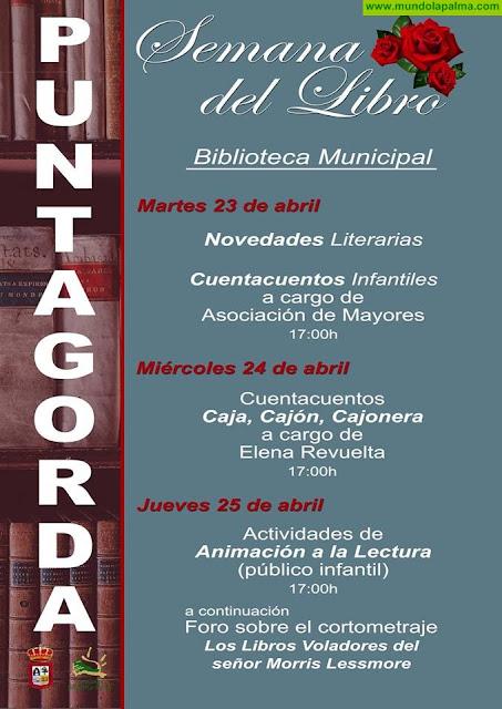 Semana del Libro en Puntagorda 2019