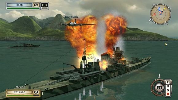 Battlestations Midway PC Free Download Screenshot 3