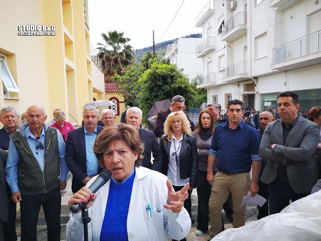 Τι λένε η ΔΕΔΥ και η ΠΟΕΔΗΝ για την συγκέντρωση διαμαρτυρίας στο Νοσοκομείο Ναυπλίου