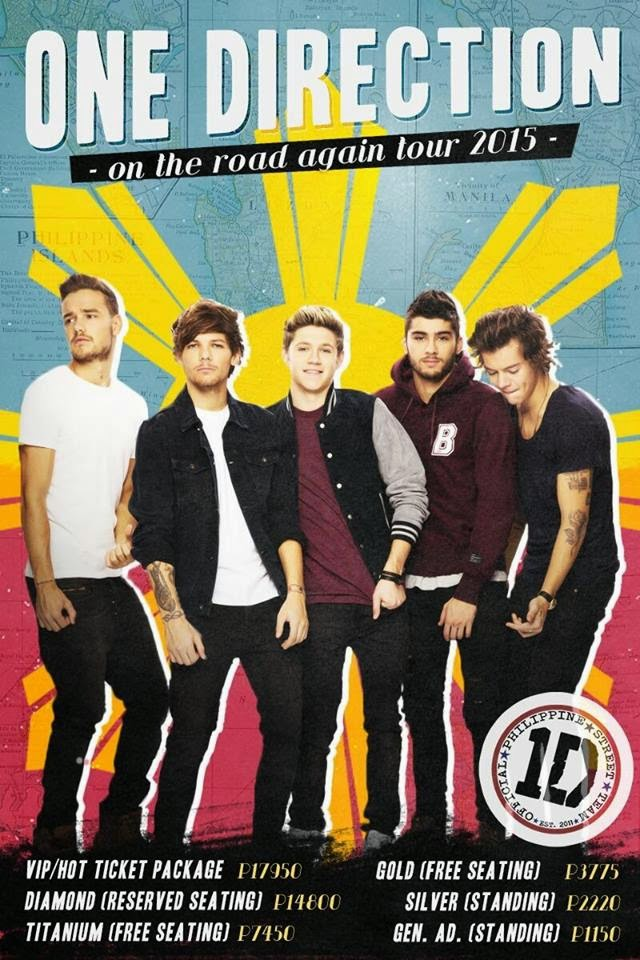 Fred Said: THEATER, CONCERTS, EVENTS: Recap of ONE DIRECTION