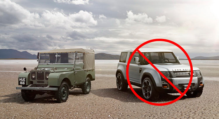 Range Rover Black >> Next Land Rover Defender Delayed To 2019, Will Not Look Like DC100 Concept