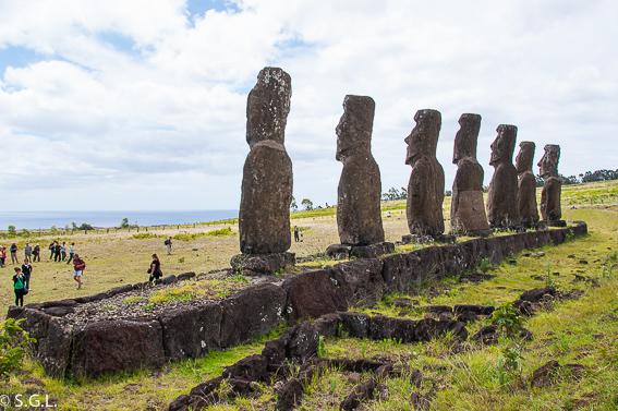 Ahu Akivi en Rapa Nui. Que ver en tres dias