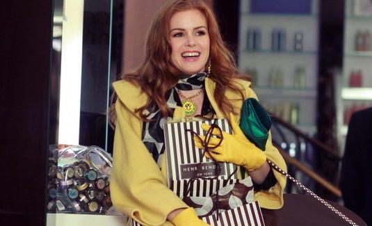 c94a5b61c 3) Delírios de Consumo de Becky Bloom (Confessions of a Shopaholic, 2009) -  Nova York. Rebecca Bloomwood (Isla Fisher) é uma garota que adora fazer  compras.