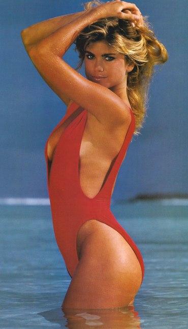 1fc926ce891e3 Swimsuitologist  One-Piece Wednesday  Kathy Ireland