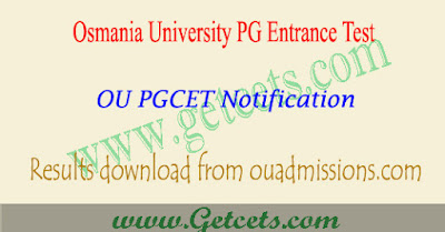 Manabadi OU PGCET results 2018-2019 download,oucet results 2018,oucet 2018 results