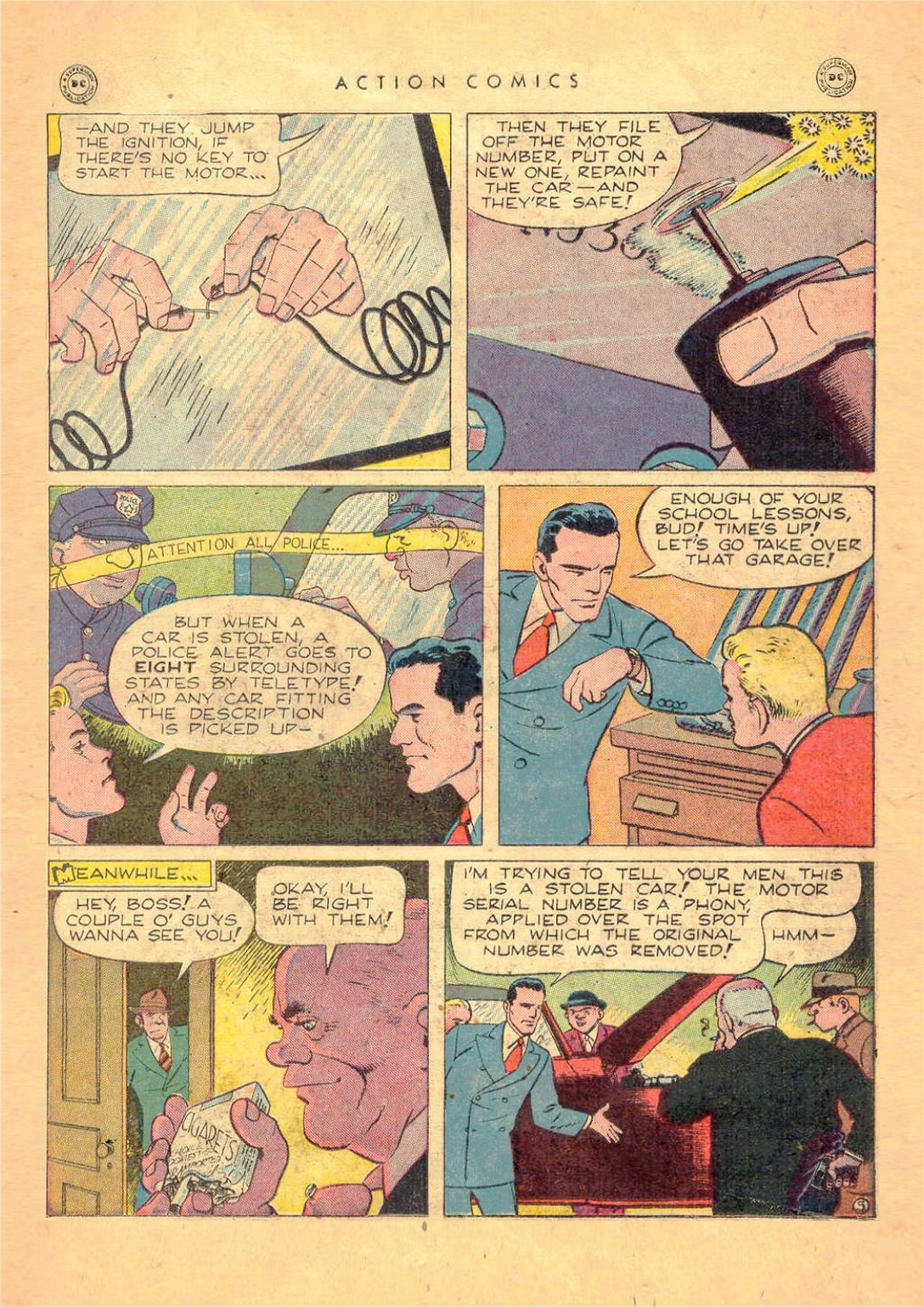 Read online Action Comics (1938) comic -  Issue #124 - 21