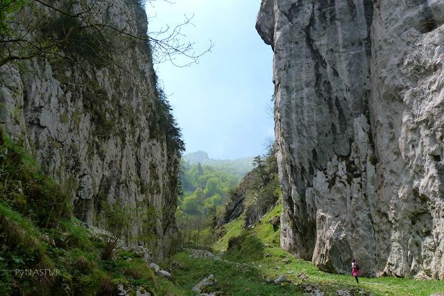 Foz de Moñacos - reserva de la Biosfera - Asturias