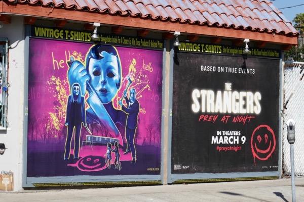 Strangers Prey at Night movie billboard