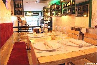 Restaurante italiano Tu Pasta en El Retiro