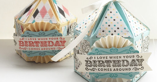 Stampin' Up!® cupcakes and carousels deel 2