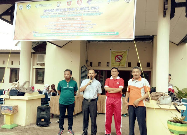 Hari Kesehatan Sedunia, PSC 119 di Perkenalkan di Kecamatan Ganra
