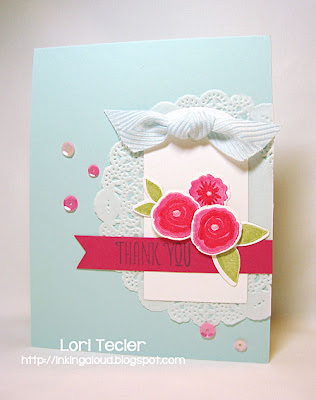 Fresh Cut Florals Thank You-Designed by Lori Tecler-Inking Aloud-stamps and dies from WPlus9