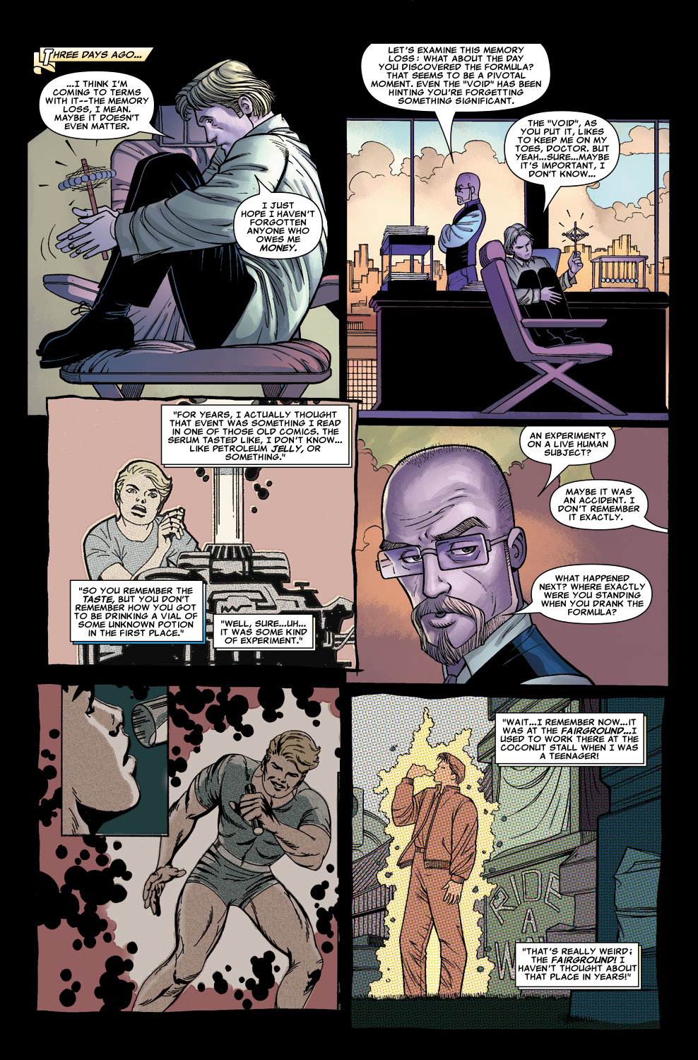 Read online Sentry (2006) comic -  Issue #5 - 7