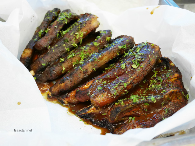 Grilled Lamb with Rosemary Sauce