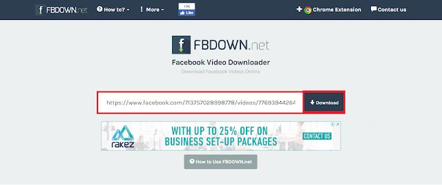 Cara Download Video Facebook Dengan Mudah Dan Benar