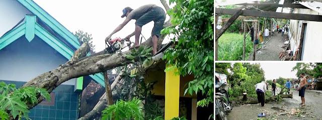 50 Rumah Di Jombang Rusak Diterjang Putting Beliung