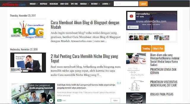 Apa itu Template Blog dan Komponen Pembentuknya