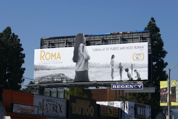 Roma cut-out billboard