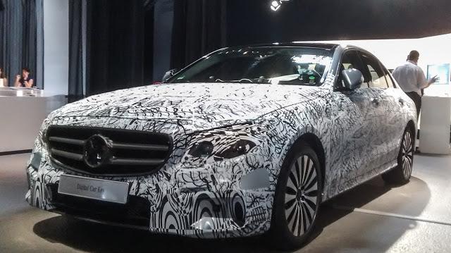 Full Camuflaje para el próximo Mercedes Clase E Coupé