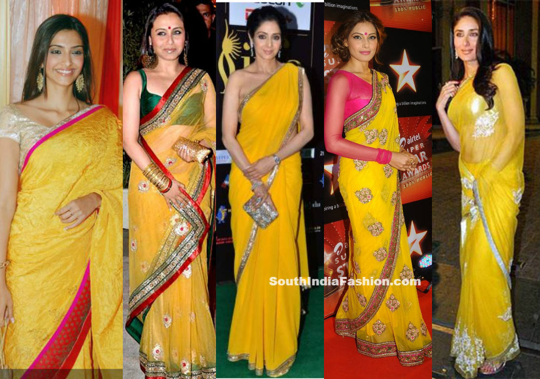 10 Hollywood celebrities who rocked the Indian saree ...
