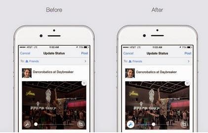 nueva aplicación para editar fotos antes de subirlas a facebook