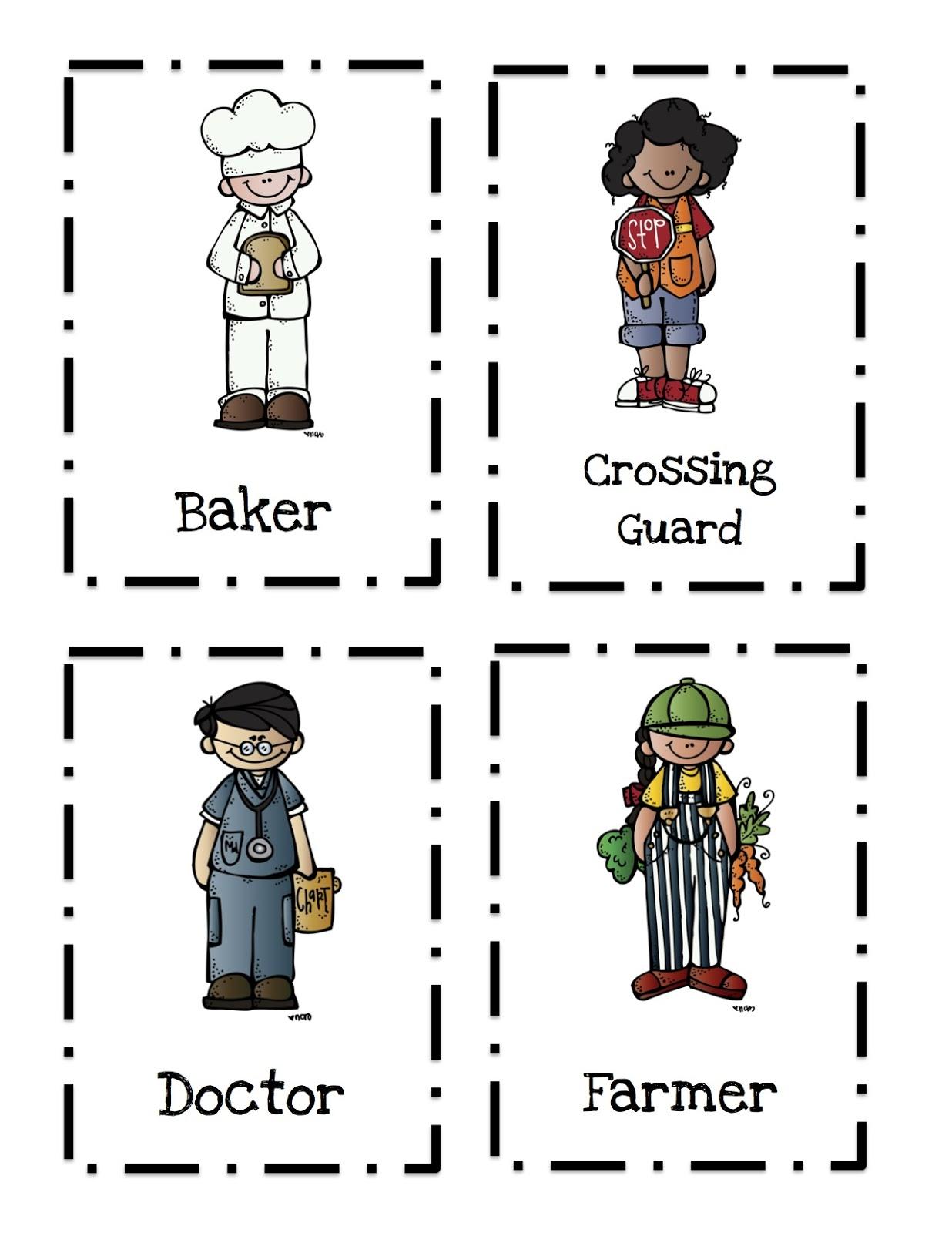 Community Helpers Printable 2 ~ Preschool Printables