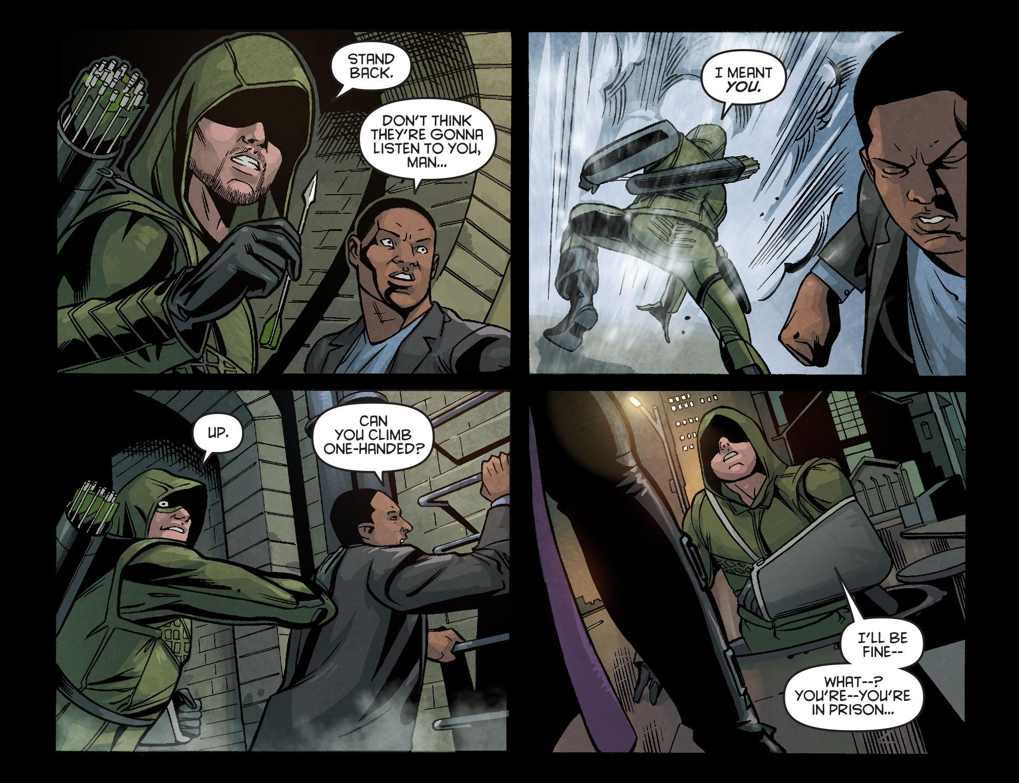 Read online Arrow: Season 2.5 [I] comic -  Issue #6 - 19