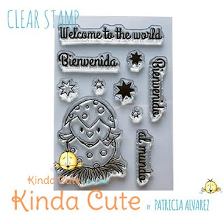 Little bird/Easter bird clear stamp