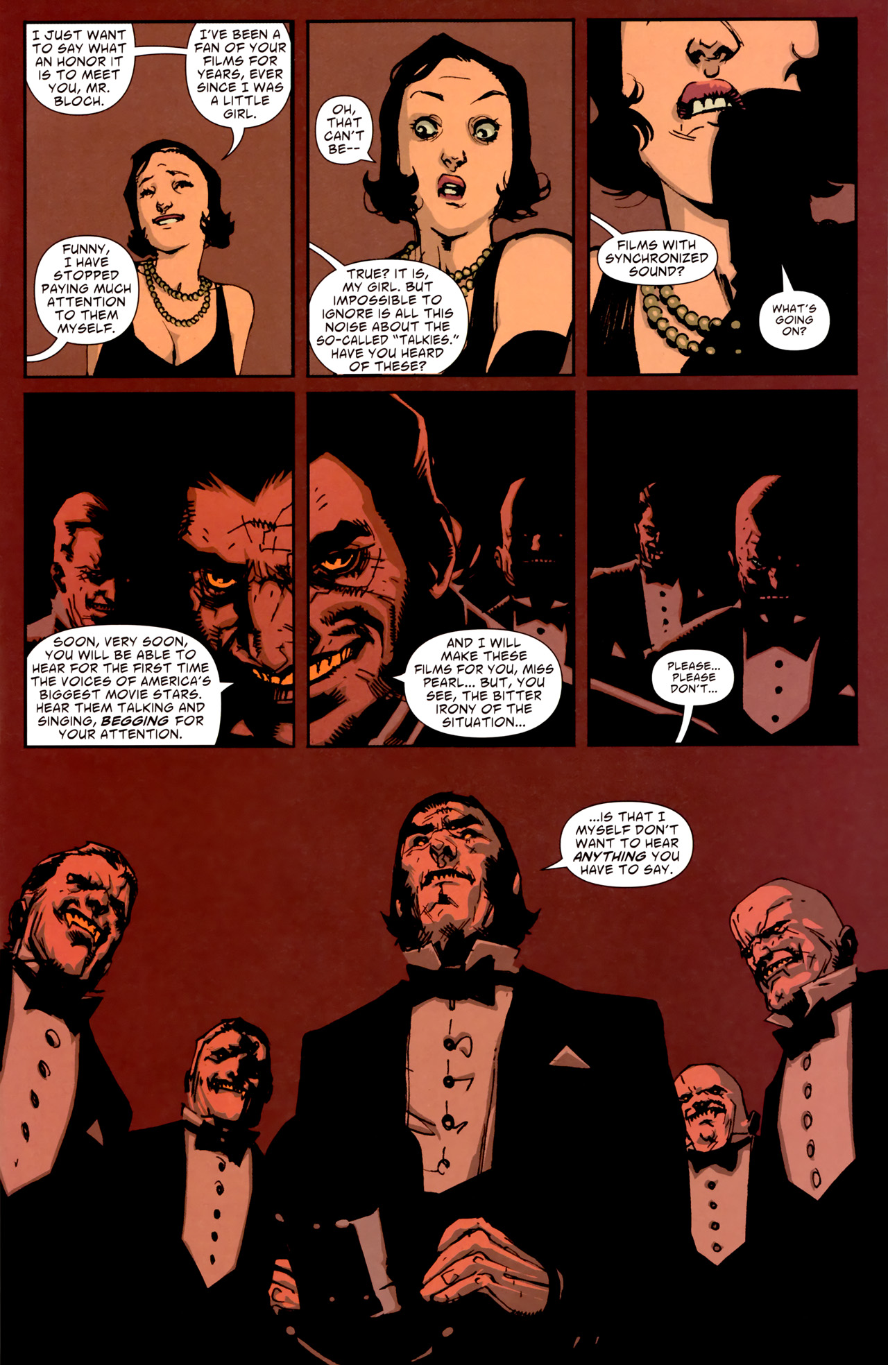 Read online American Vampire comic -  Issue #1 - 17