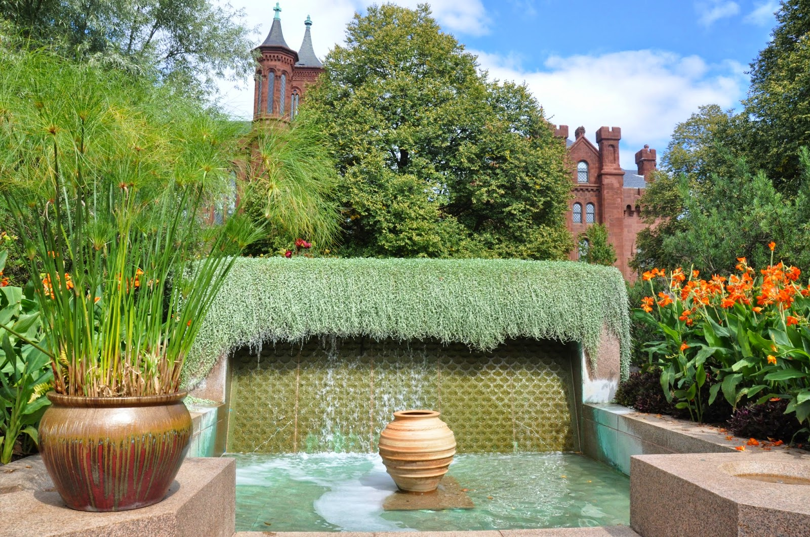 A GREAT EUROPE TRIP PLANNER: IN THE ENID A. HAUPT GARDEN...