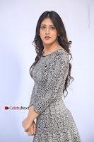 Actress Chandini Chowdary Pos in Short Dress at Howrah Bridge Movie Press Meet  0064.JPG