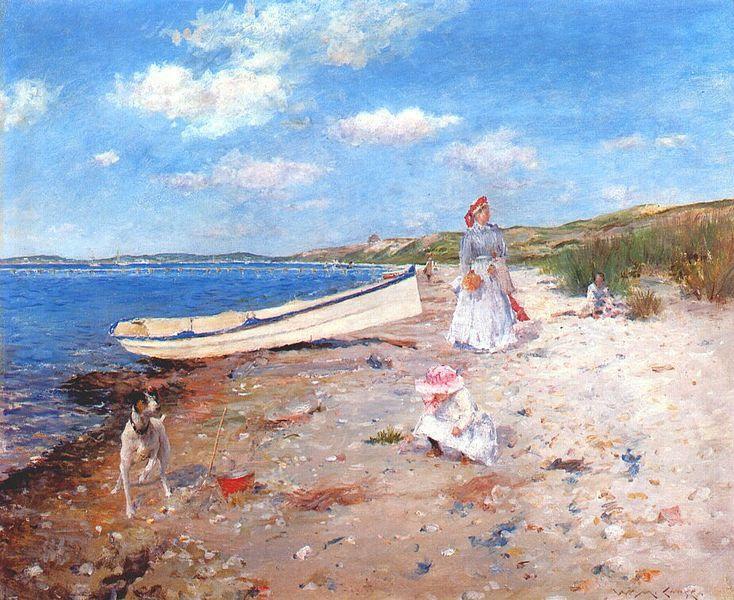 Sunny day near the sea