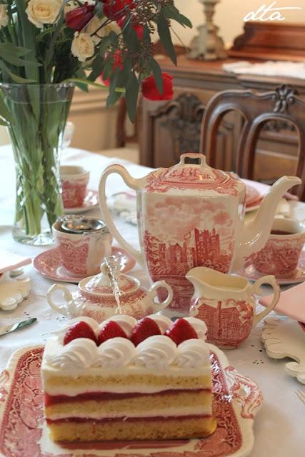 Regency Era Valentine Tea