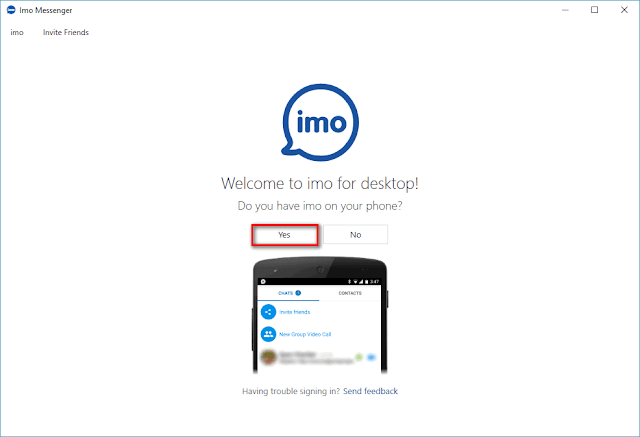 imo for pc free download windows
