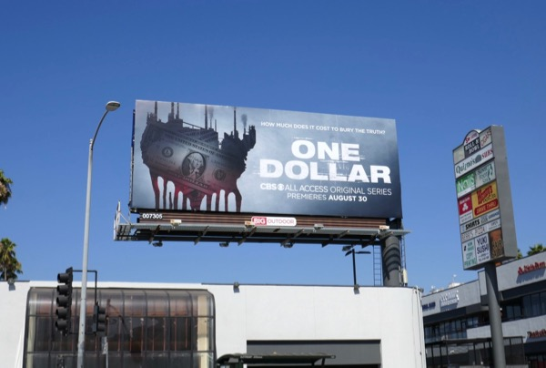 One Dollar CBS All Access billboard