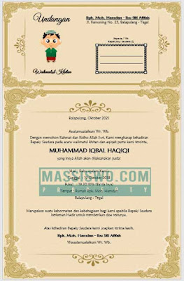 download undangan walimatul khitan