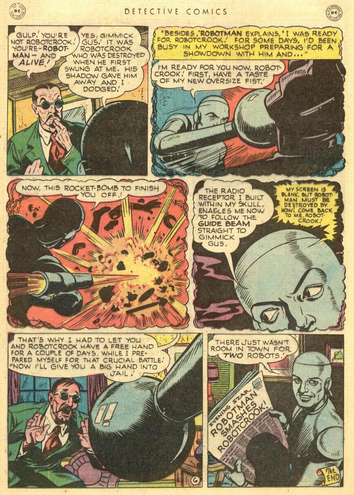 Read online Detective Comics (1937) comic -  Issue #150 - 21