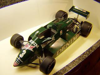 Tyrrell 011 - Michele Alboreto - British & Las Vegas GP 1982 (Antonicky)