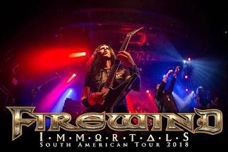 FIREWIND Tour Latinoamerica