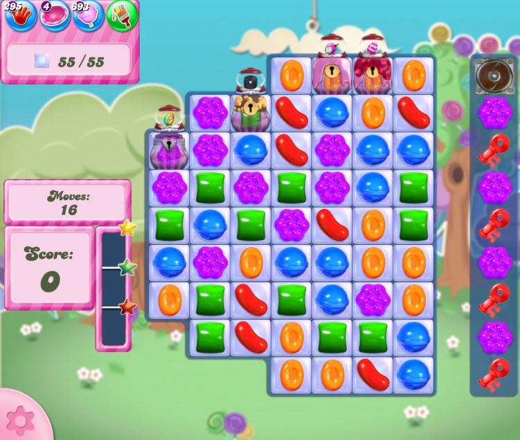 Candy Crush Saga level 2823