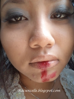 Detil Make Up Hallowen Ala Racun Warna Warni