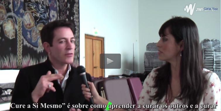 Entrevista a Eric Pearl 2014, por Rafaela Carrijo