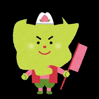 岡山県のキャラクター