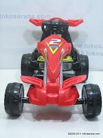 2 Mobil Mainan Aki PLIKO PK8218N GOKART dengan Kendali Jauh