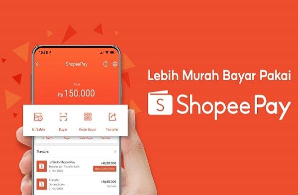 Cara Top up Shopeepay Lewat M Banking Bca