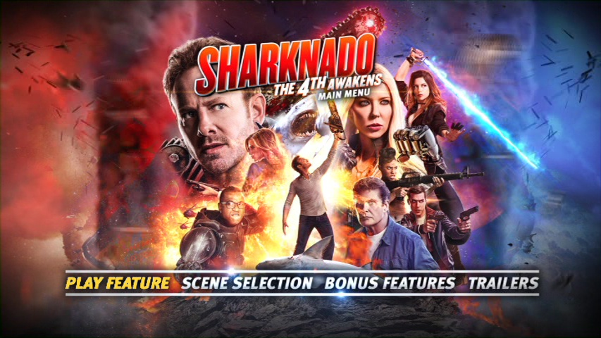 Sharknado: The 4th Awakens/Sharknado: Que la 4ª te acompañe