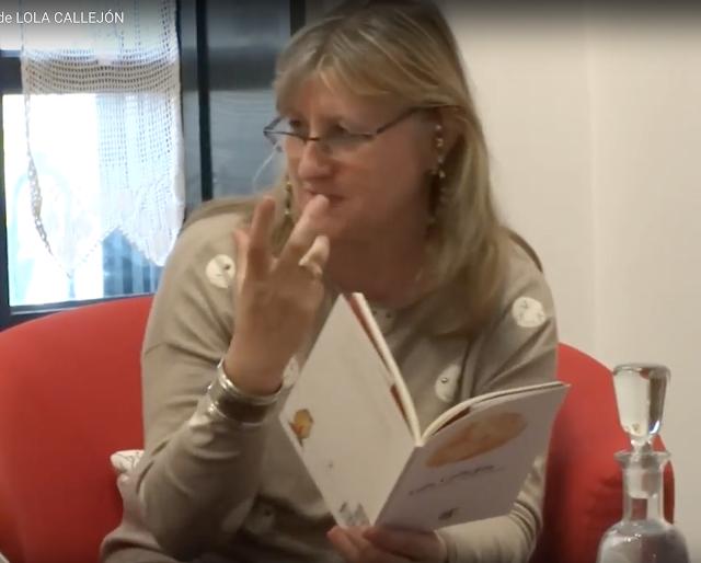 ELOÍSA GALINDO lee un poema de LOLA CALLEJÓN