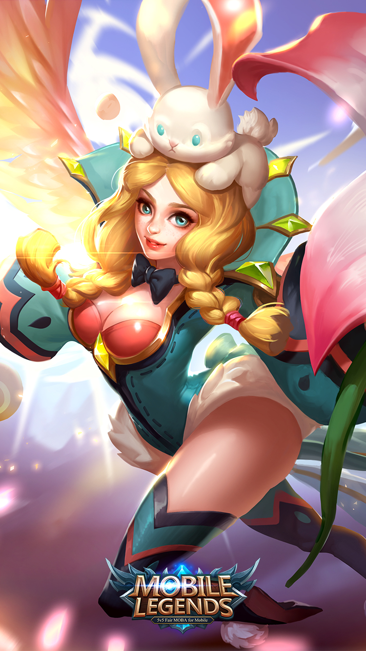 wallpaper Rafaela mobile legends 3d