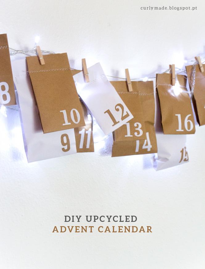 Advent Calendar Self Made : Diy upcycled advent calendar christmas crafts decor