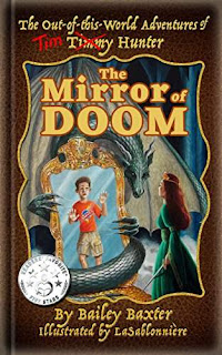The Mirror of Doom - a fun middle-grade fantasy by Bailey Baxter